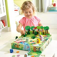 儿童桌面棋牌游戏 森林盛会