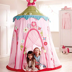 粉色花环帐篷 游戏屋
