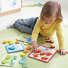 儿童归类整理桌面益智玩具 动物配对游戏