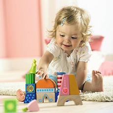 16块彩色积木 婴幼儿早教 益智玩具