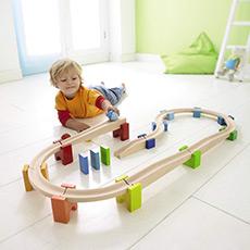 拼搭滚珠积木 小球轨道 益智玩具