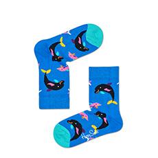 海豚男女幼婴儿童彩袜中筒帮长棉袜KWAT01-2000
