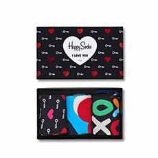 情侣款情人节礼物爱心可爱特殊图案彩袜 XHEA08-9000