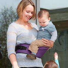 宝宝腰包式外出座椅 6个月-3岁适用