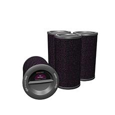 GC MultiGas 滤芯筒和防尘滤网罩组合