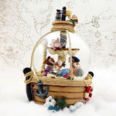小老鼠航海历险记旋转水晶球