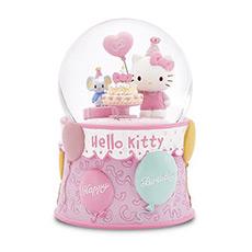 Hello Kitty过生日水晶球