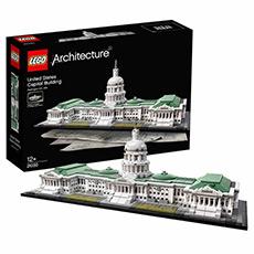 建筑系列 21030美国国会大厦