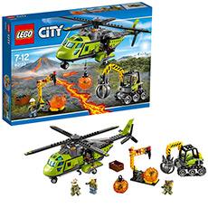城市系列 火山探险运输直升机 60123