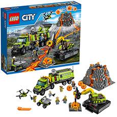 城市系列 火山探险基地 60124