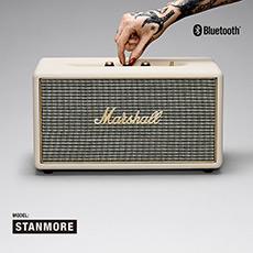 STANMORE 马歇尔摇滚重低音监听级无线蓝牙音箱系统