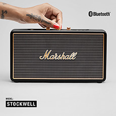 Stockwell 马歇尔摇滚重低音便携式无线蓝牙音箱系统