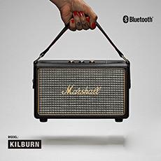 Kilburn 马歇尔摇滚重低音监听级移动式无线蓝牙音箱