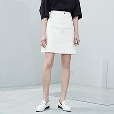 韩版A字裙毛边女士半身短裙5170412246011