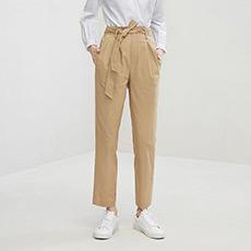 时尚直筒休闲女士长裤5180413050131