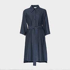 气质修身衬衫女士连衣裙5180413399491