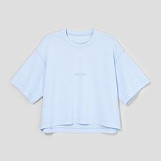 纯色字母女士短袖T恤5180421207731