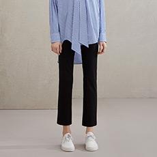韩版OL通勤女士直筒西装长裤5990113052721