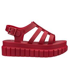 简约横条厚底凉鞋32183