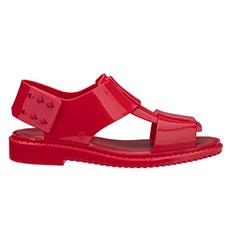 时尚宽带果冻凉鞋32232