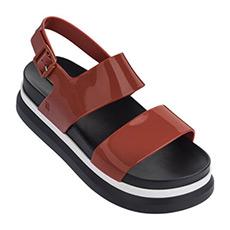 时尚横条厚底凉鞋32360