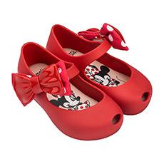 米老鼠蝴蝶结果冻童鞋32377