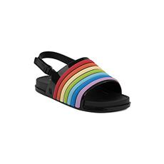 海滩彩虹小童平底凉鞋32486