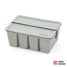 日本 Pulp纸浆储物盒 简约环保再生纸革收纳盒