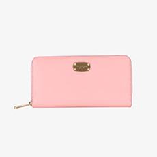 粉色手拿包