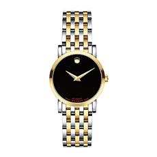 情侣款瑞红玫瑰金机械钢带手表