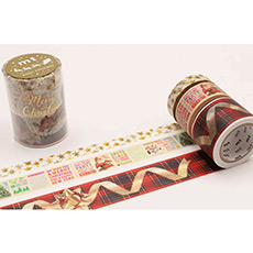 日本MT和纸胶带圣诞限定胶带S76