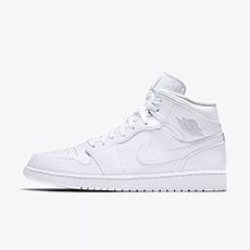 男子运动鞋Air Jordan 1 Mid 554724-104