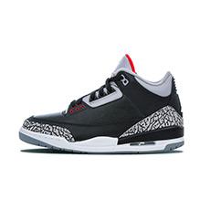 AIR JORDAN 3 黑水泥爆裂纹女子篮球鞋 854261-001