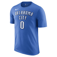 俄克拉荷马城雷霆队 NIKE DRY NBA 男子T恤 870797