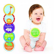 宝宝重要时刻贴纸