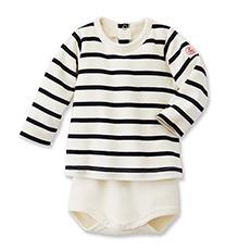 新生儿连体衣长袖纯棉包屁衣12341