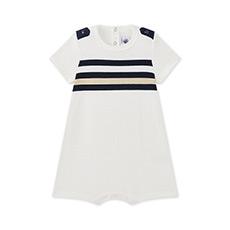 男宝宝短袖连体衣27562