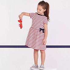 女童短袖连衣裙27733