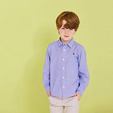 男童长袖衬衫27862