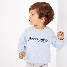 新生儿男宝宝套头卫衣28058