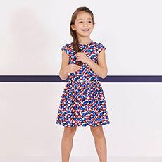 女童短袖连衣裙28233