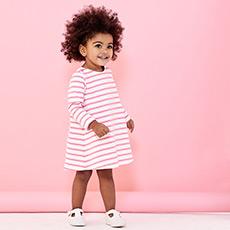 女婴长袖连衣裙28490