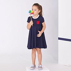 女童短袖连衣裙43059