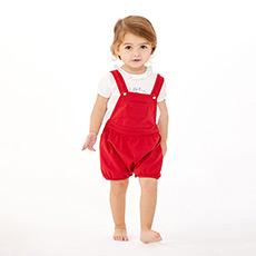 女婴背带裤444482