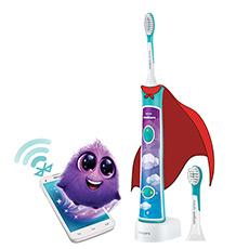 充电声波震动儿童牙刷 智能APP 实时监测 8款贴纸