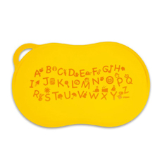 婴幼儿餐垫(芒果黄)