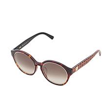 玳瑁色镜框金属内圈时尚镜片太阳镜
