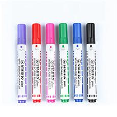 德国进口 641圆头白板笔彩色笔可擦教学笔