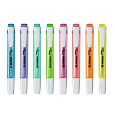 275乐酷彩色荧光标记笔记号笔