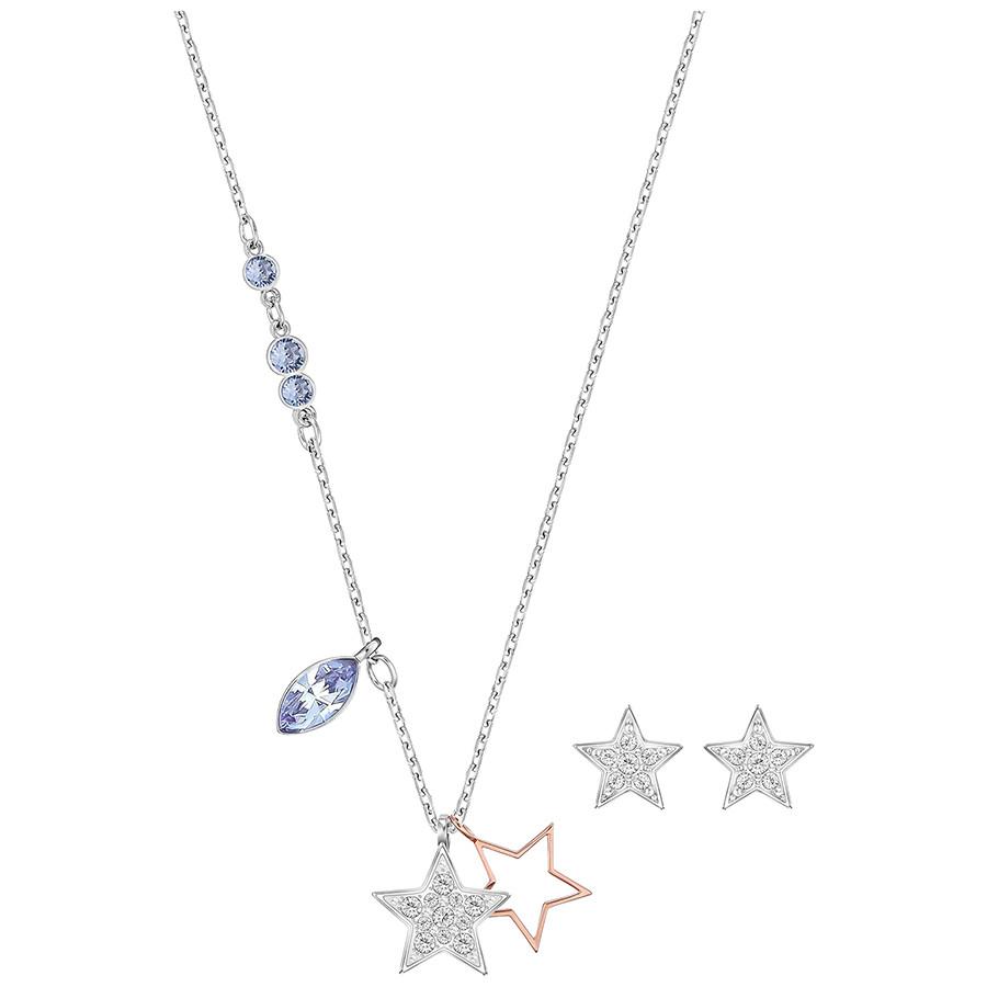 DuoStar星星项链耳饰套装 简单搭出清新范